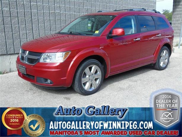 2009 Dodge Journey R/T*Lthr/Roof/7pass