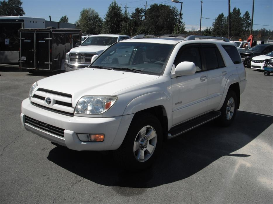 2004 toyota 4runner limited 4wd burnaby incl new. Black Bedroom Furniture Sets. Home Design Ideas