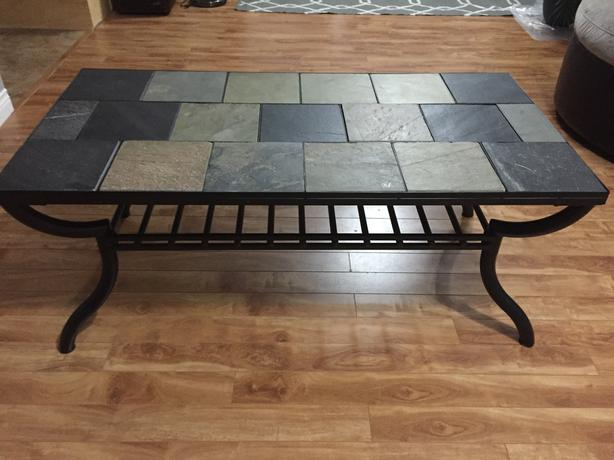 Tile Top Coffee Table