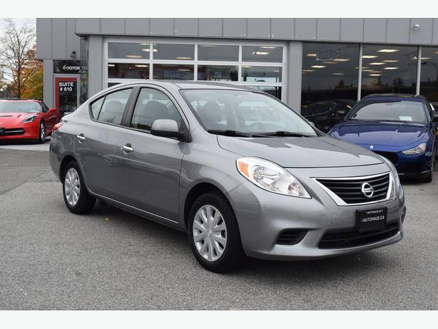 2013 nissan versa 1 6 sv richmond vancouver. Black Bedroom Furniture Sets. Home Design Ideas