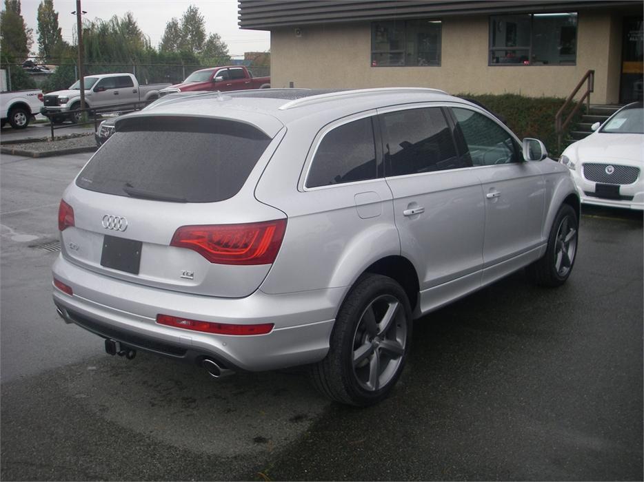 2011 Audi Q7 Tdi Quattro Premium Diesel Outside Victoria
