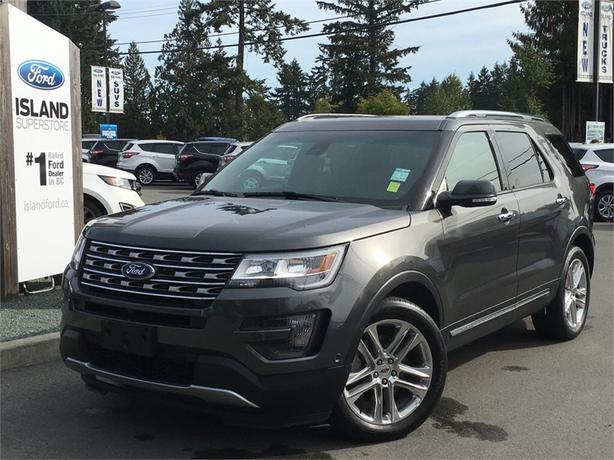 2016 Ford Explorer Limited, TWO MOON ROOFS
