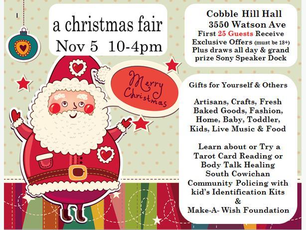 A Christmas Fair Cobble Hill Nov 5