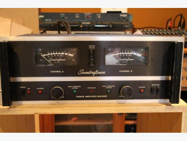 Soundcraftsmen MA5002 Vintage Power Amplifier