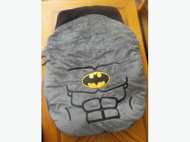 car seat bunting blanket batman saanich victoria. Black Bedroom Furniture Sets. Home Design Ideas