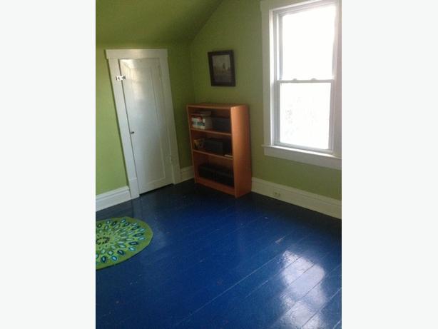Painted Solid Wood Flooring