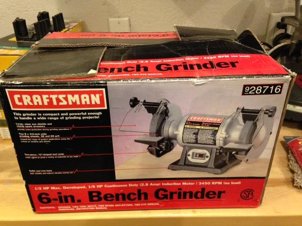 6 Inch Craftsman Bench Grinder Never Used North Regina Regina