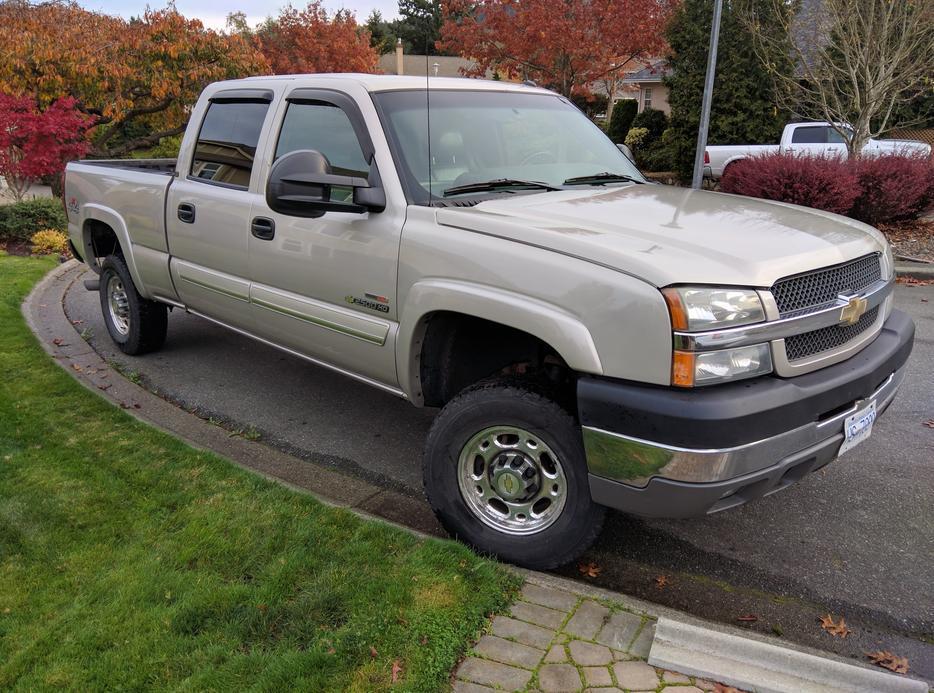 Chevrolet Silverado 2500hd Gatineau >> 2004 Chevrolet Silverado 2500HD Duramax Diesel Victoria City, Victoria