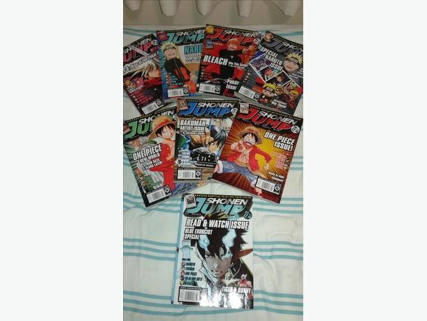 Shonen Jump maganzines and FREE Star Wars merch