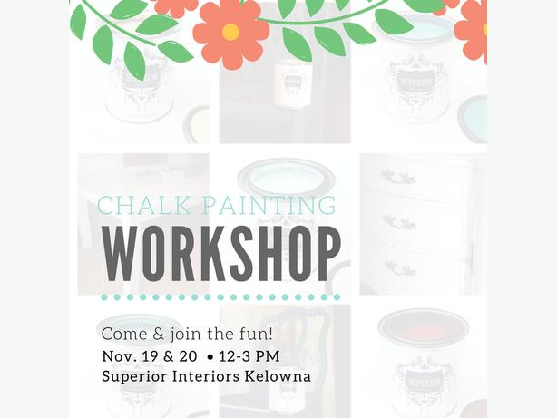 Furniture Refinishing Workshop!