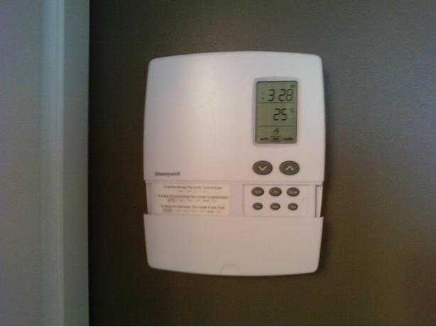 Honeywell thermostat electric baseboard
