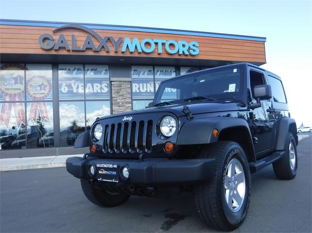 2012 Jeep Wrangler Sport - 4WD, Cruise Control, Alloy Wheels