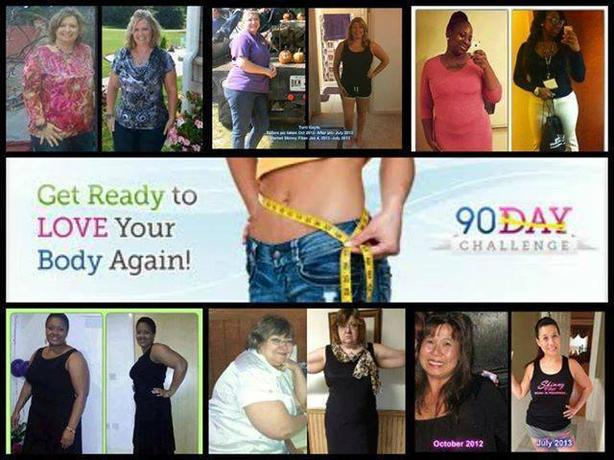 Take the 90 Day Challenge...Look Good Feel Great.