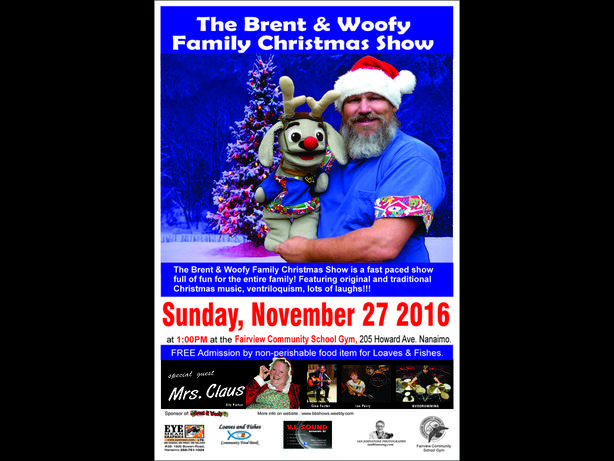 Brent & Woofy Christmas Concert For Loaves & Fishes