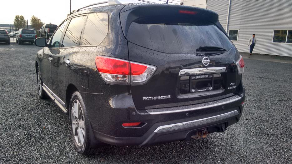 Nissan Campbell River >> 2014 Nissan Pathfinder Platinum **Great price, 7 seats!** Outside Victoria, Victoria - MOBILE