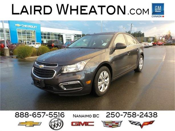 2016 Chevrolet Cruze Limited LT w/ 4G WiFi Hotspot and Back-Up Camera