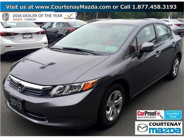 2012 Honda Civic Sedan LX 5sp