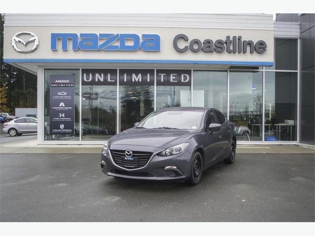2014 Mazda 3 GX MANUAL