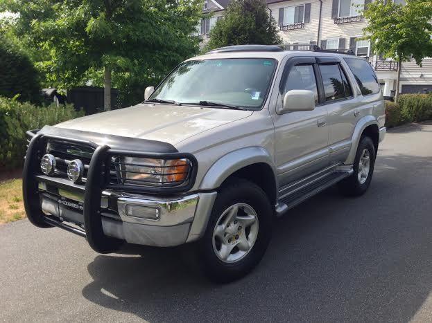 1997 toyota 4runner limited outside victoria victoria. Black Bedroom Furniture Sets. Home Design Ideas