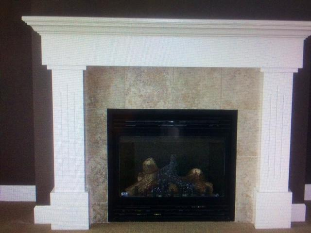 Finishing Store Custom Full Fireplace Surround Mantle Cap West Shore Langford Colwood