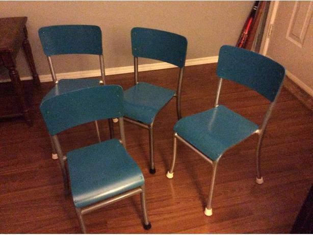 Vintage pre school chairs