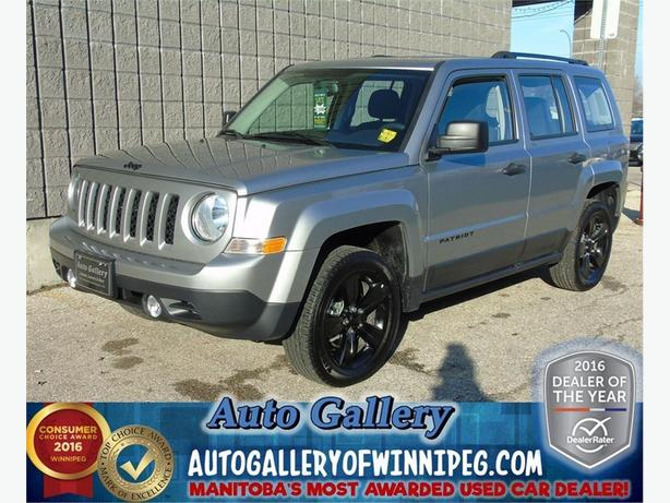 2015 Jeep Patriot Alt. 4x4 *Low Kms!