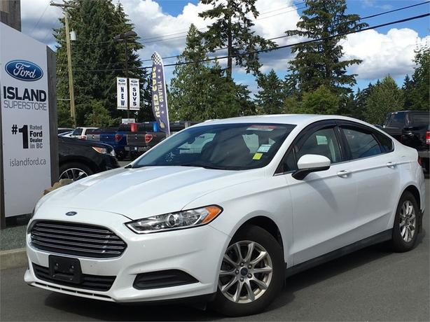 2016 Ford Fusion S, Cargo Net, Power Trunk