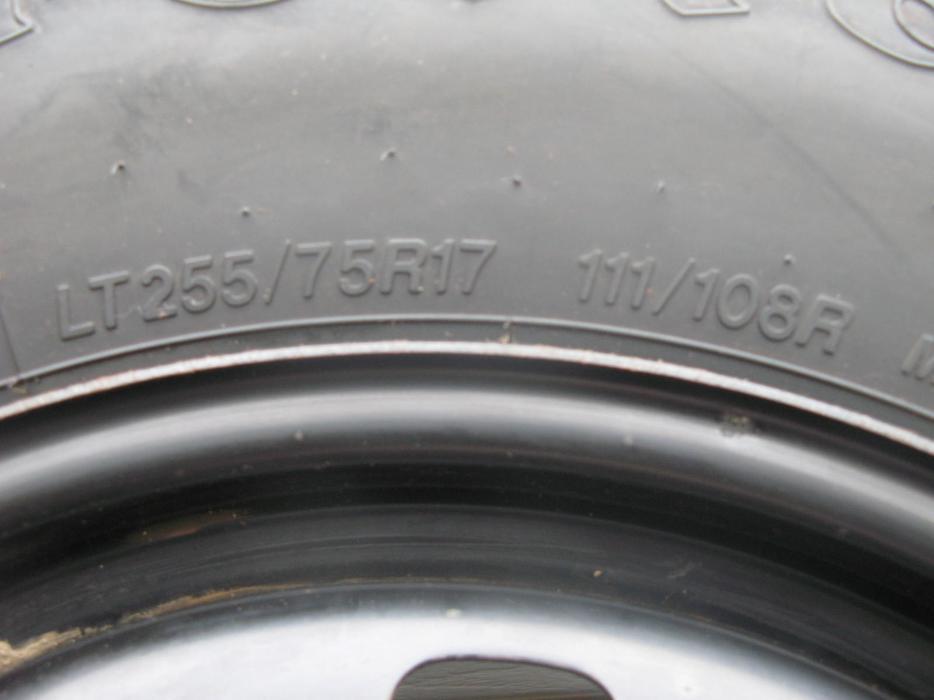 Firestone Winterforce Tires >> FOUR (4) FIRESTONE WINTERFORCE LT TIRES W/RIMS /LT255/75/17/ - $700 Nepean, Ottawa