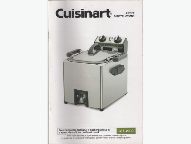 FOR SALE:  CUISINART TURKEY FRYER/STEAMER