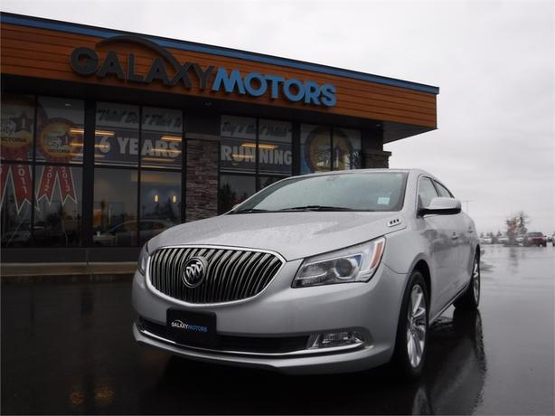 2016 Buick LaCrosse Sedan - Reverse Cam, Sat Radio, Leather Int