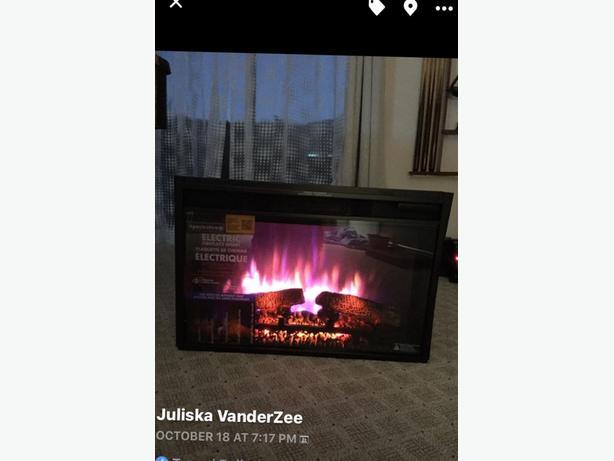 New Electric Fireplace Insert North Nanaimo Nanaimo