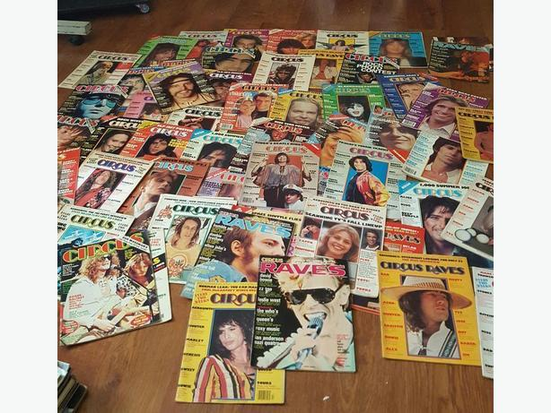 rock magazines from 1970's