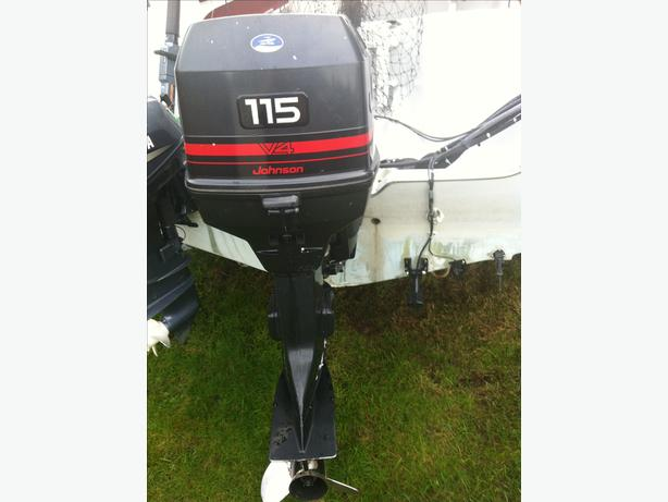 1994 115hp Johnson Outboard Motor Campbell River  Comox Valley