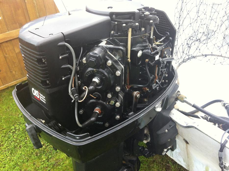 1994 115hp Johnson Outboard Motor Campbell River Campbell