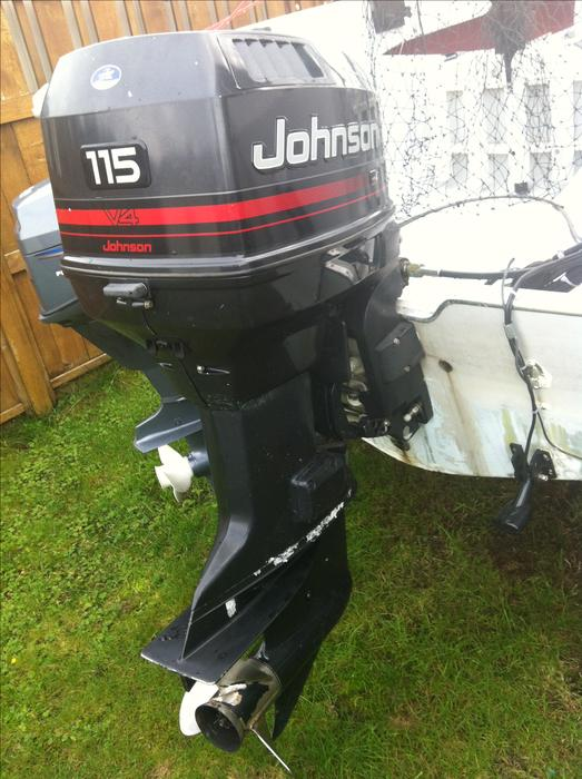 1994 115hp Johnson Outboard Motor Campbell River  Comox