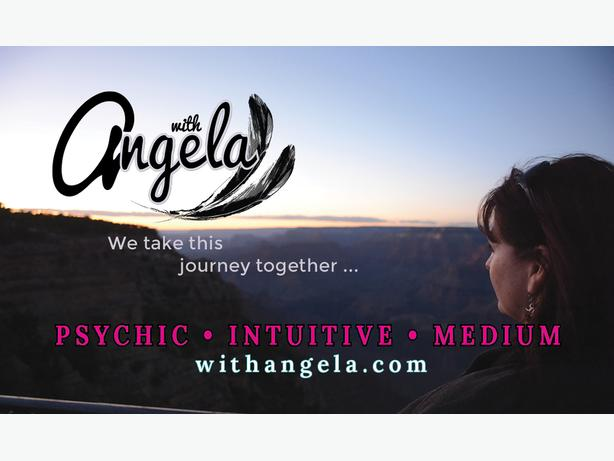 Reading with Angela- Psychic Intuitive Medium- Gift Certificates