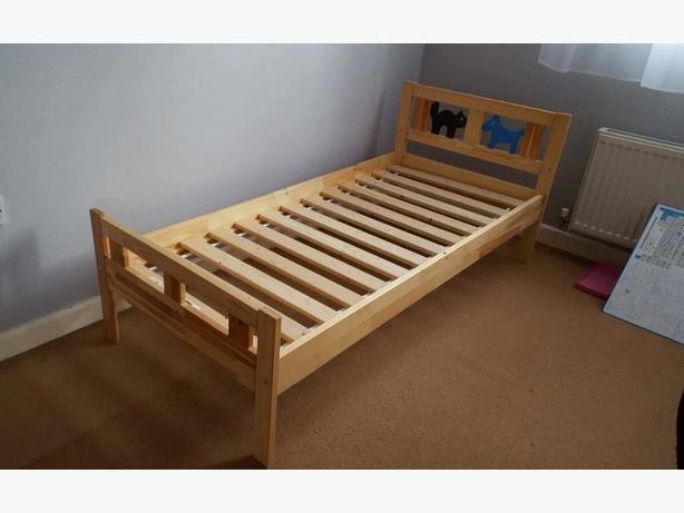 ikea kritter bed pine saanich victoria. Black Bedroom Furniture Sets. Home Design Ideas