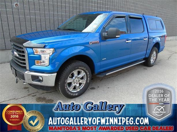 2015 Ford F-150 XTR 4x4*Crew/Box Cap