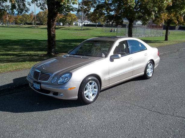 2003 mercedes benz e320 call hart at 250 724 3221 outside