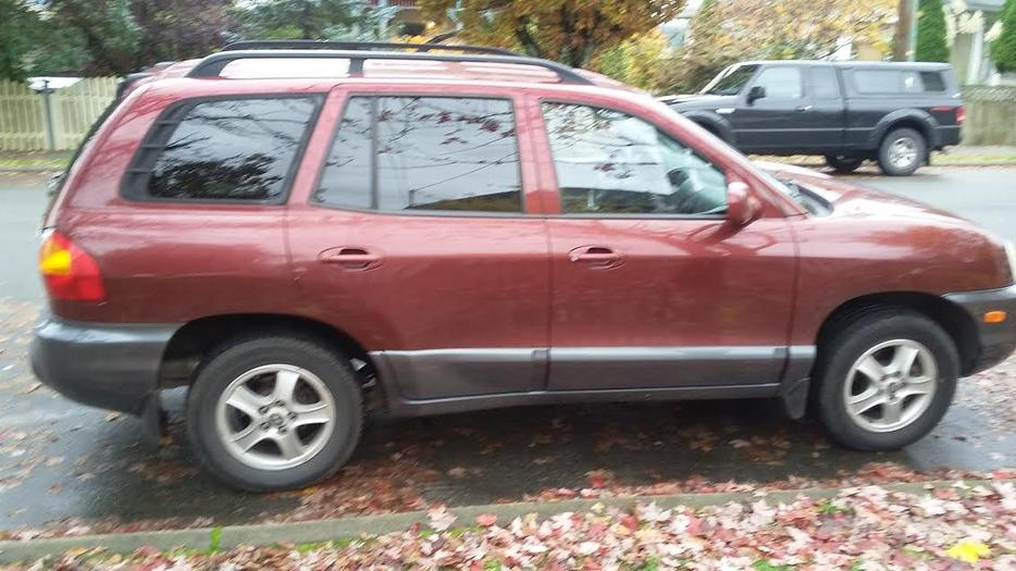 2001 awd santa fe excellent condition must go price dropped south nanaimo nanaimo mobile. Black Bedroom Furniture Sets. Home Design Ideas