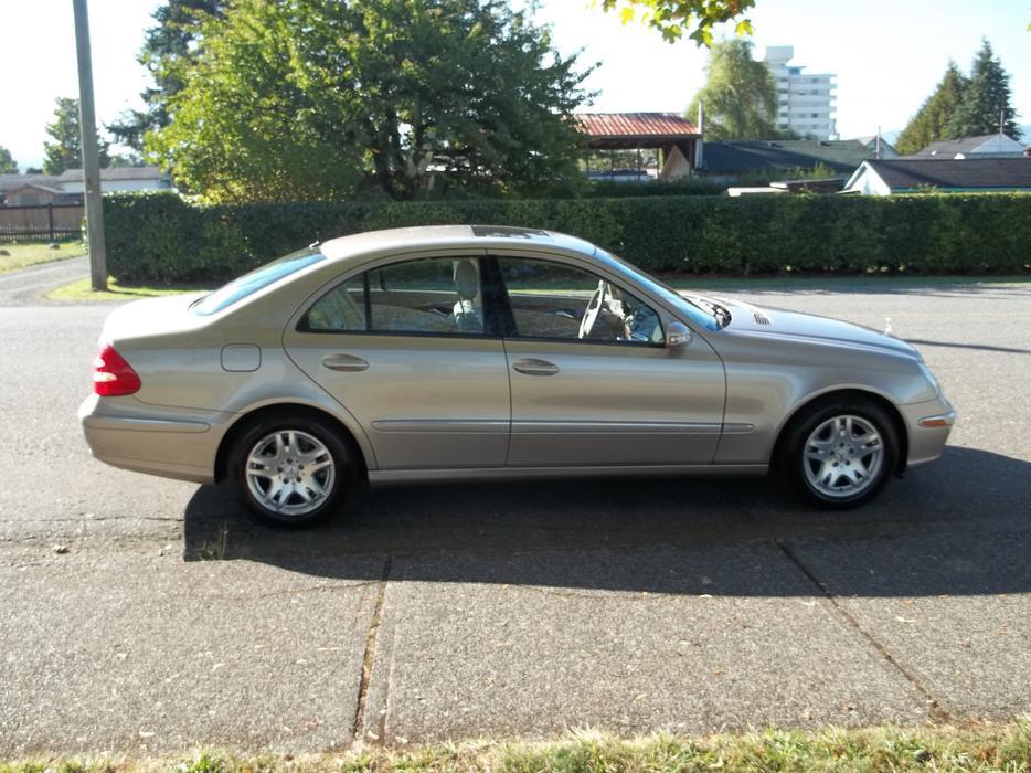 2003 Mercedes Benz E320 Call Hart At 250 724 3221 Outside