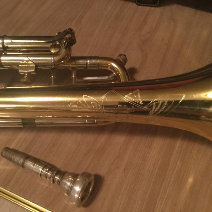 vintage huttl trumpet for sale central regina regina. Black Bedroom Furniture Sets. Home Design Ideas