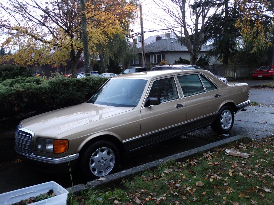 1984 mercedes benz 500sel victoria city victoria for Mercedes benz bay ridge