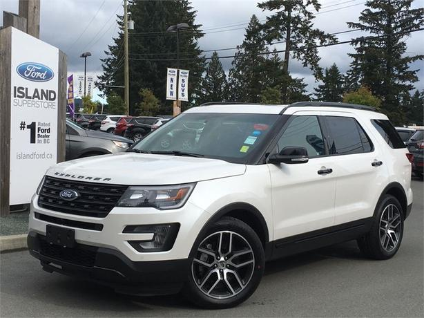 2016 Ford Explorer Sport, Leather