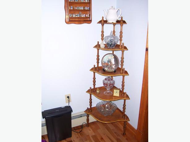 Antique Corner Shelf