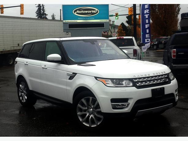 2016 range rover sport hse 3 0l supercharged 4wd victoria city victoria. Black Bedroom Furniture Sets. Home Design Ideas