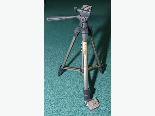 Sunpak 2001UT Photo/Video Tripod