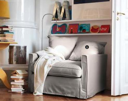 Incredible 70 Ikea Harnosand Armchair Cover Olstorp Sand Slipcover Only Interior Design Ideas Jittwwsoteloinfo