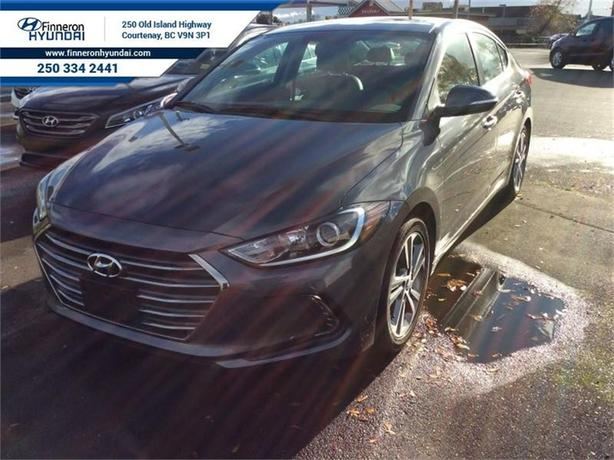 2017 Hyundai Elantra Limited  Navigation, Leather, Sunroof