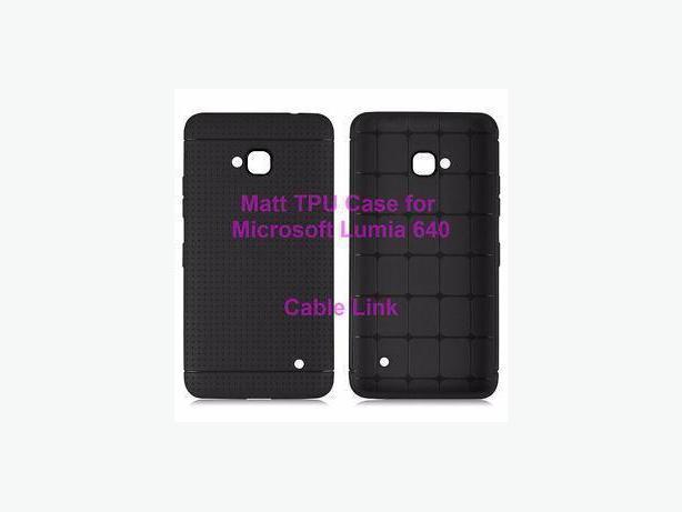 Soft Matt TPU Rubber Case for Microsoft Nokia Lumia 640